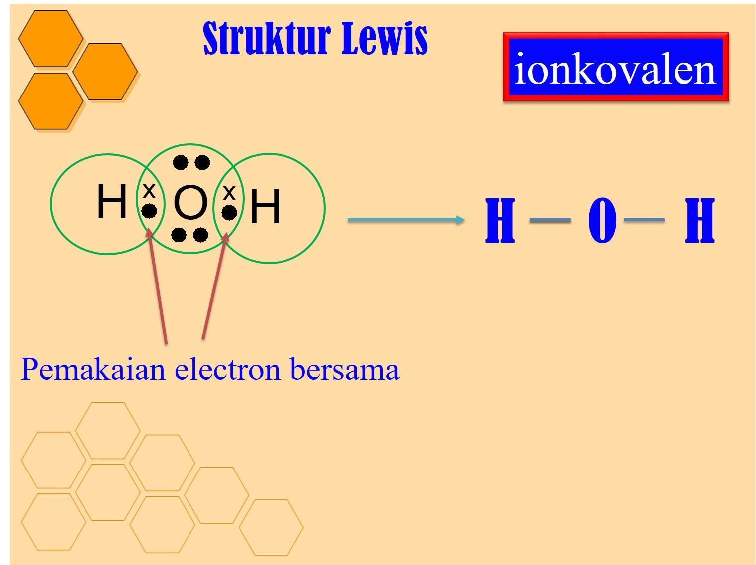 Struktur Lewis Dari H2o Brainly Co Id