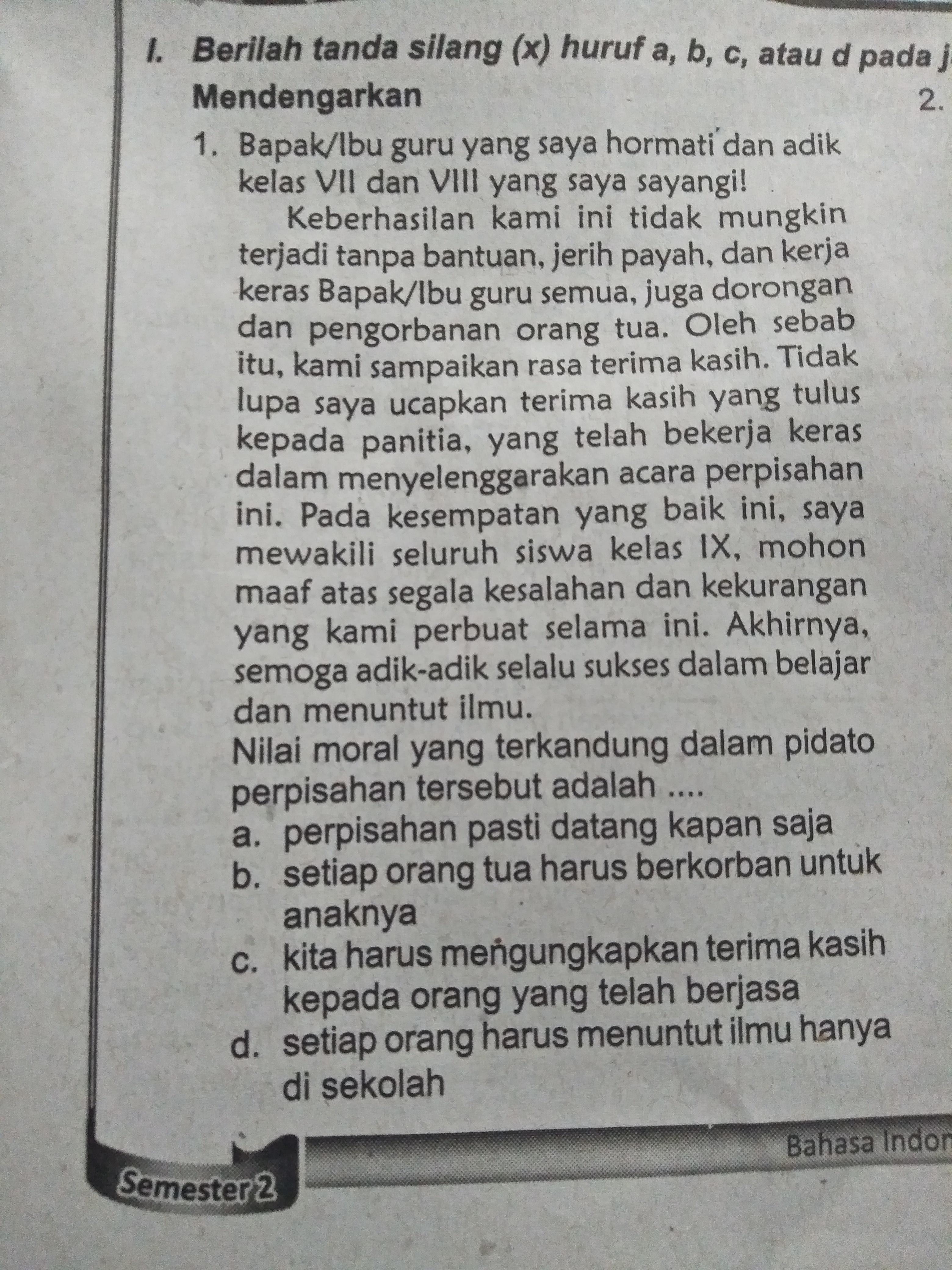 Tolong Bantu Jawab Yaah Brainly Co Id