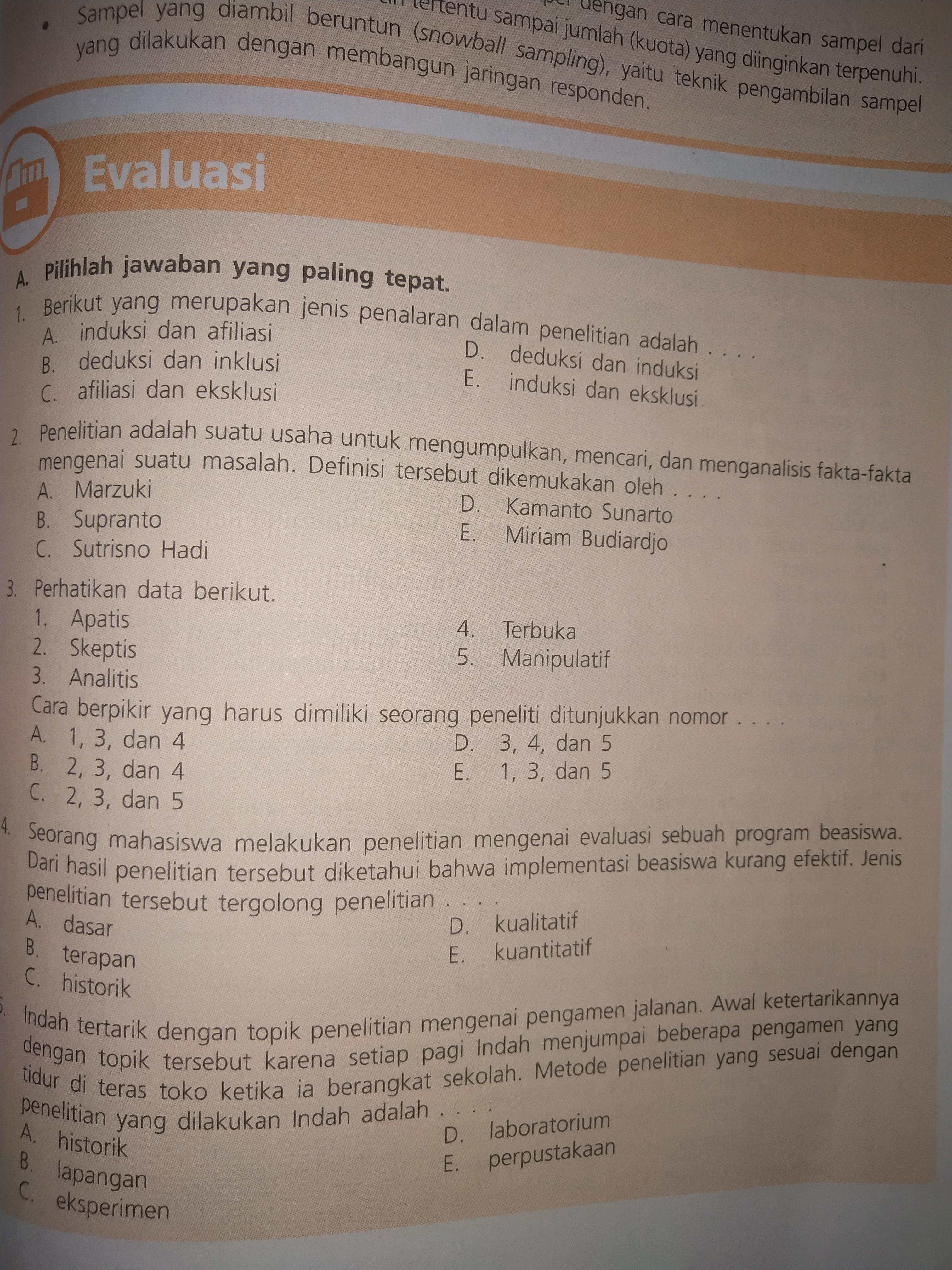 Jawaban Sosiologi Kelas 10 Semester 2 Kurikulum 2013 Halaman 193 Brainly Co Id