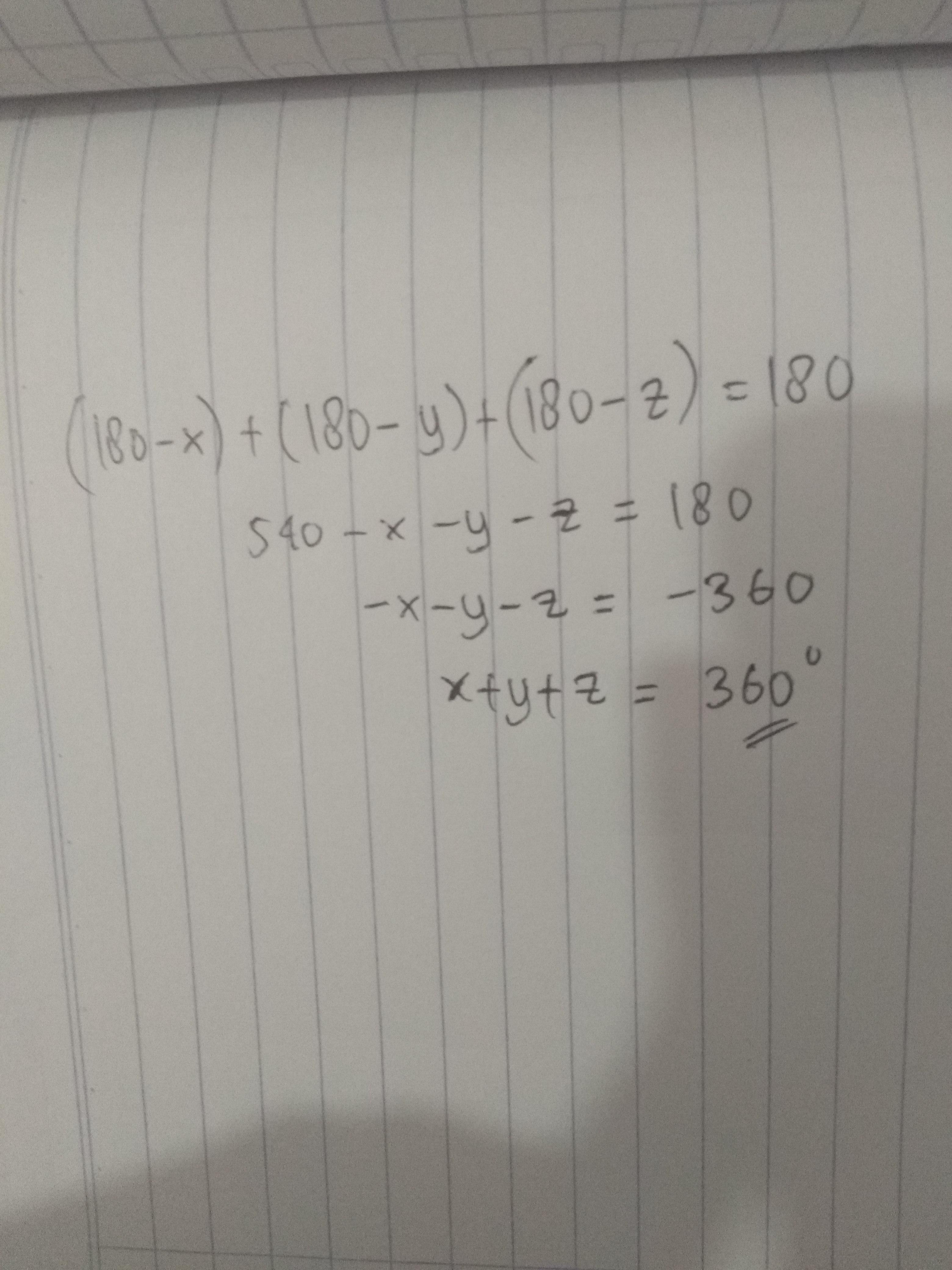 tentukan jumlah nilai x+y+z! - Brainly.co.id