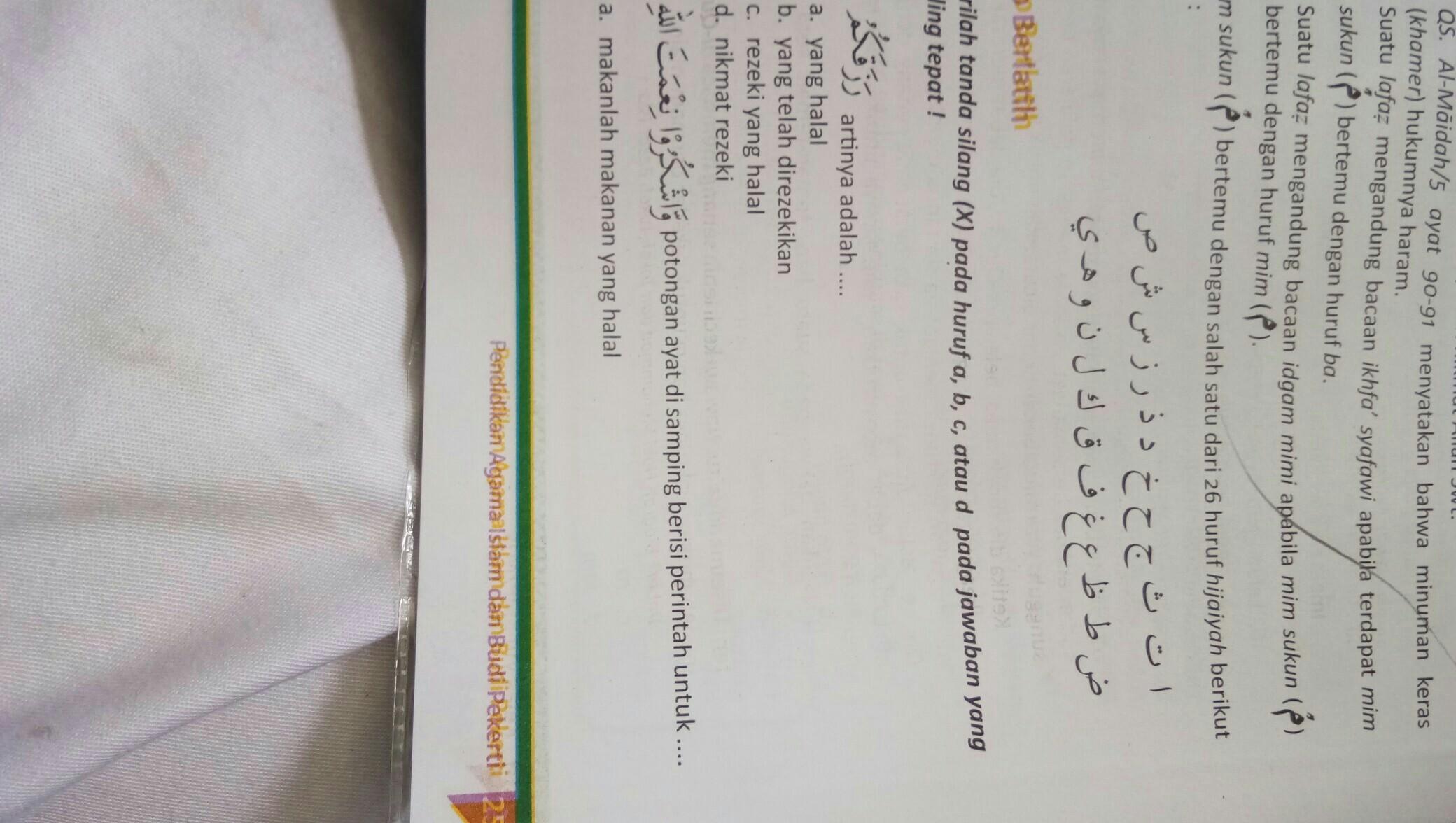 Kunci Jawaban Agama Islam Kelas 8 Bab 14 Hal 257 - Guru ...