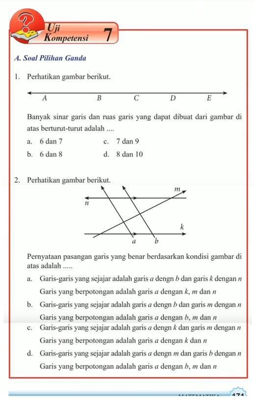 Kunci Jawaban Buku Paket Matematika Kelas 7 Semester 2 Halaman 29