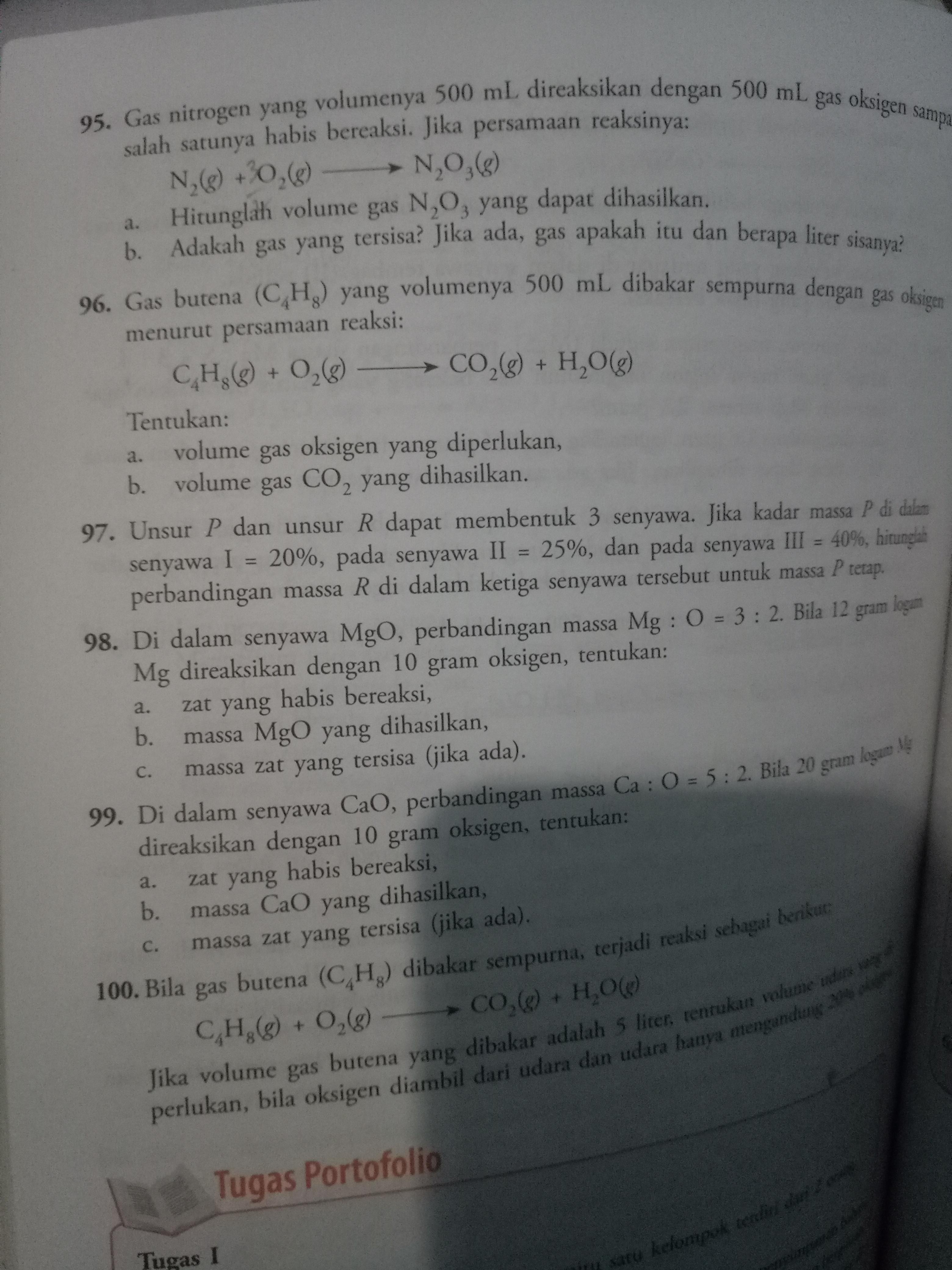 Contoh Soal Ulangan Harian Meteri Hukum Dasar Kimia Brainly Co Id