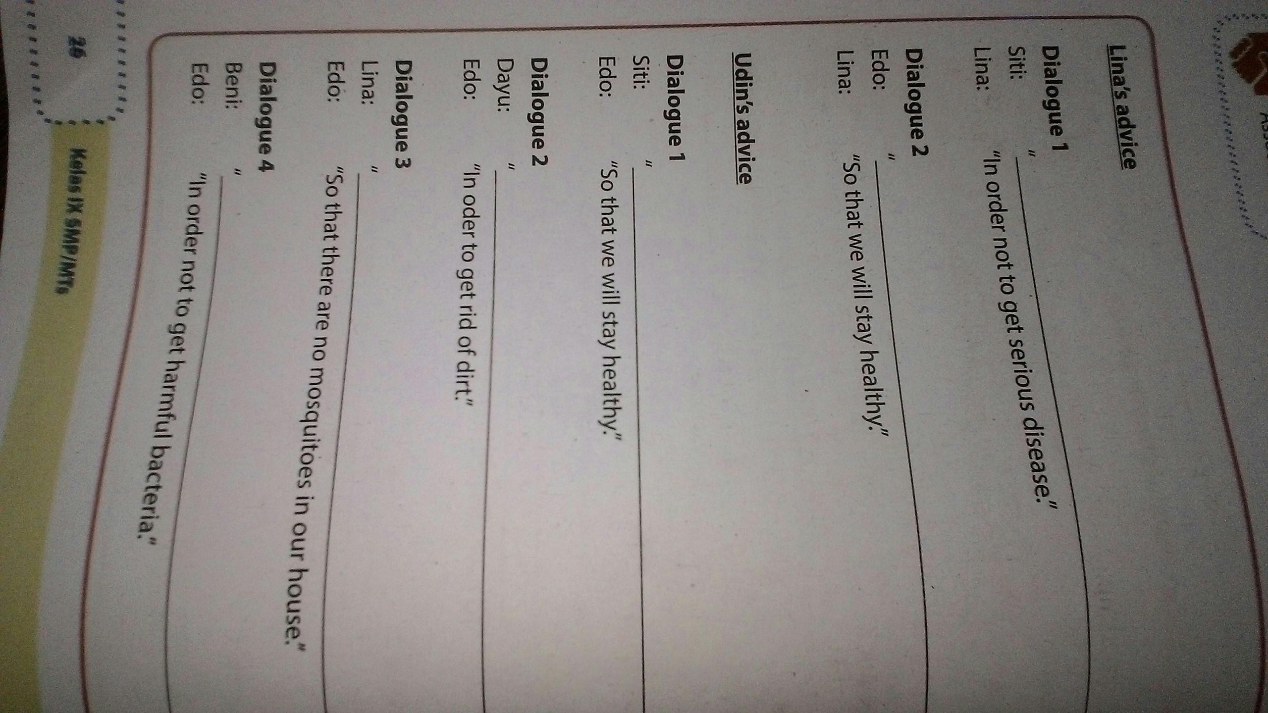 Jawaban Bahasa Inggris Kelas 8 Halaman 24 Guru Galeri