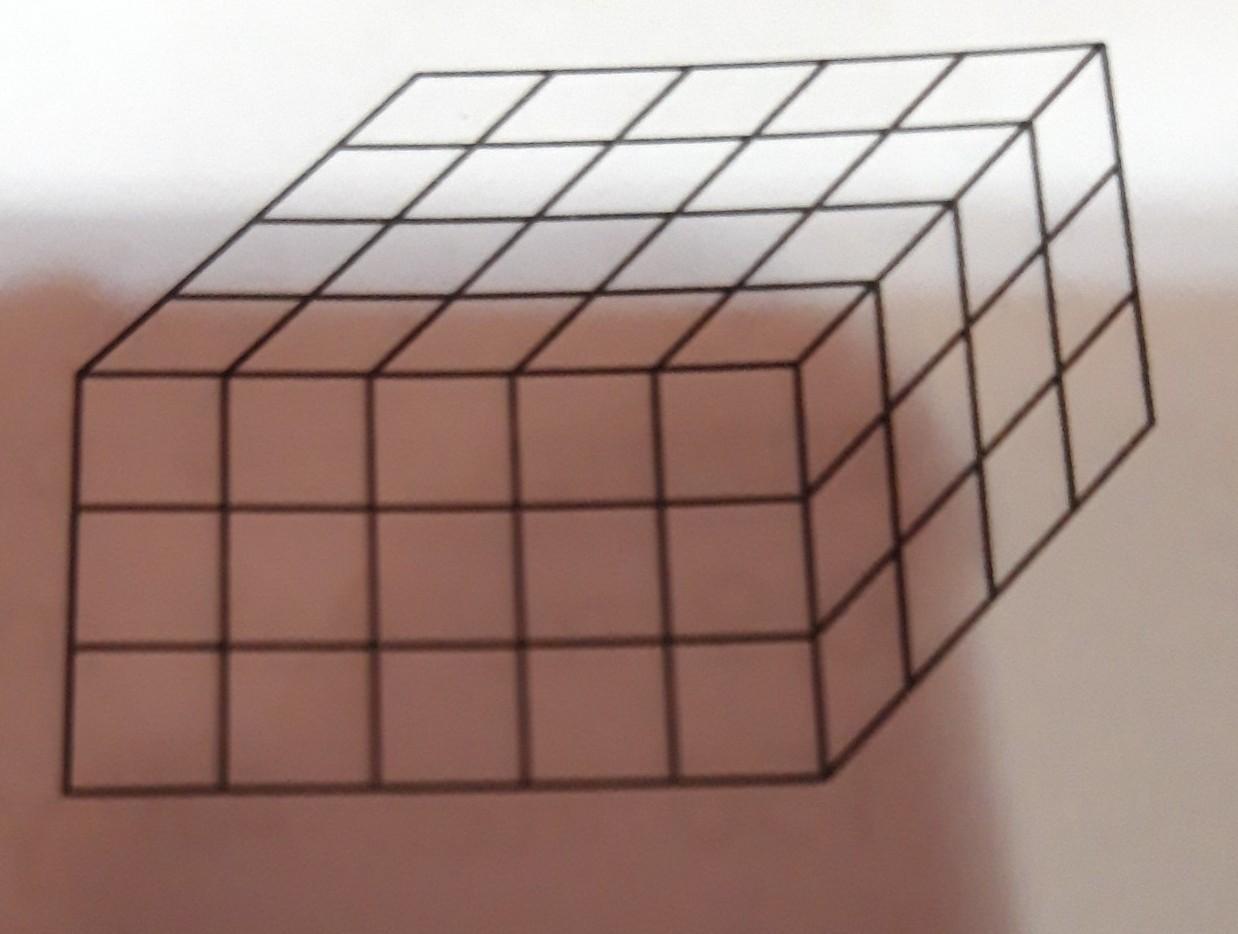 Sebuah Balok Disusun Dengan Cara Menumpuk Kubus Kubus Satuan Seperti Pada Gambar Di Samping Jika Brainly Co Id