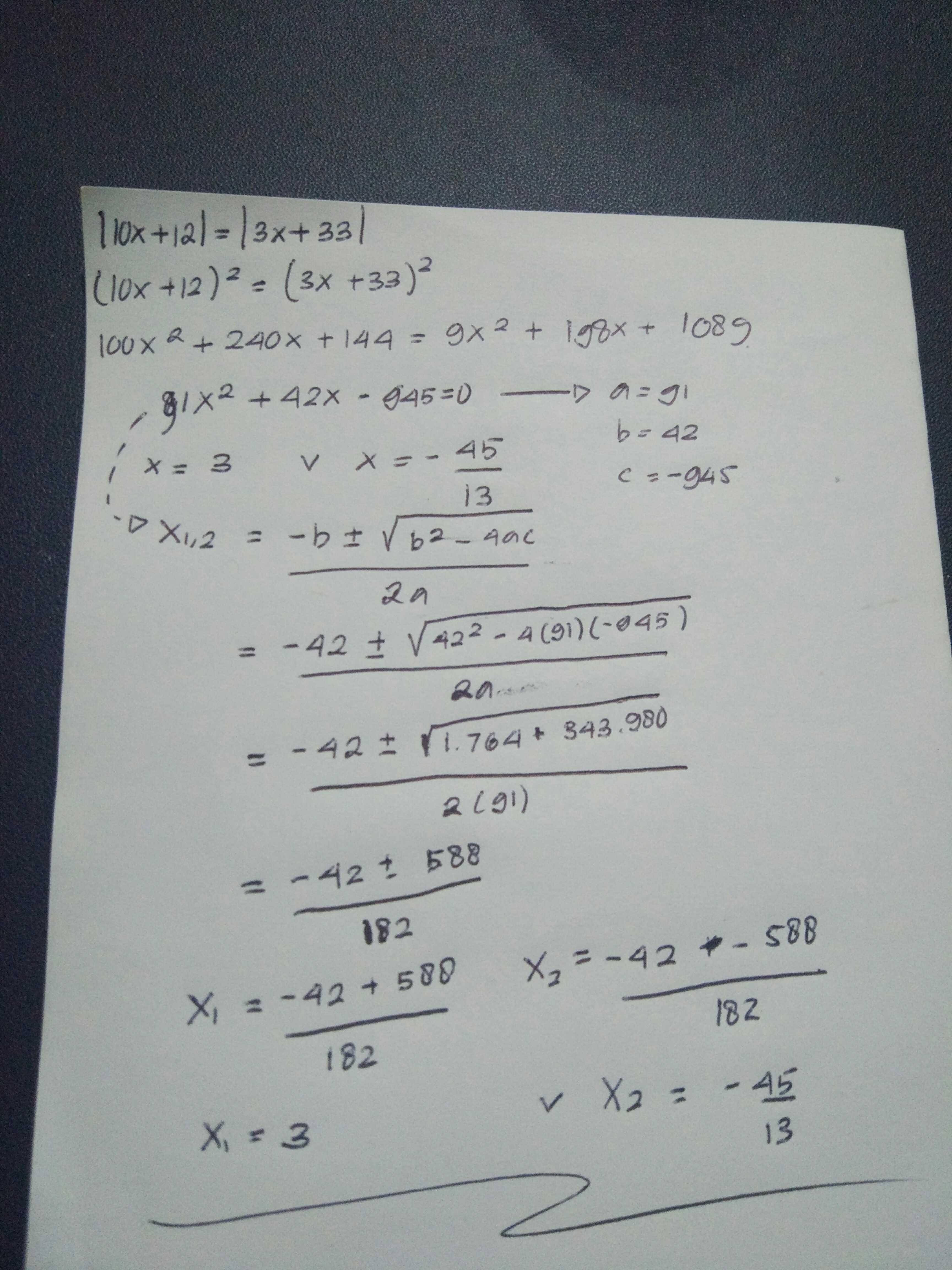 Coy Jawaban Dari Ini Apa Tentukan Nilai X Dari Nilai Mutlak 10x 12 Nilai Mutlak Nilai Mutlak Brainly Co Id