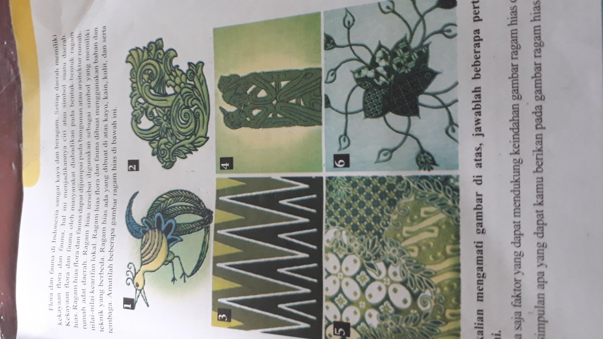 Menggambar Ragam Hias Figuratif Geometris Fauna Flora Dan Motif