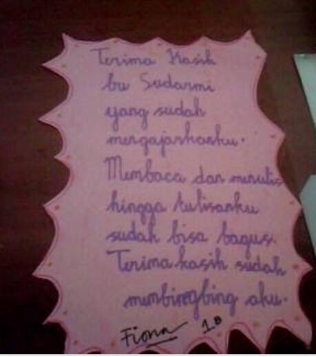 Buatlah Surat Cinta Untuk Guru Brainlycoid