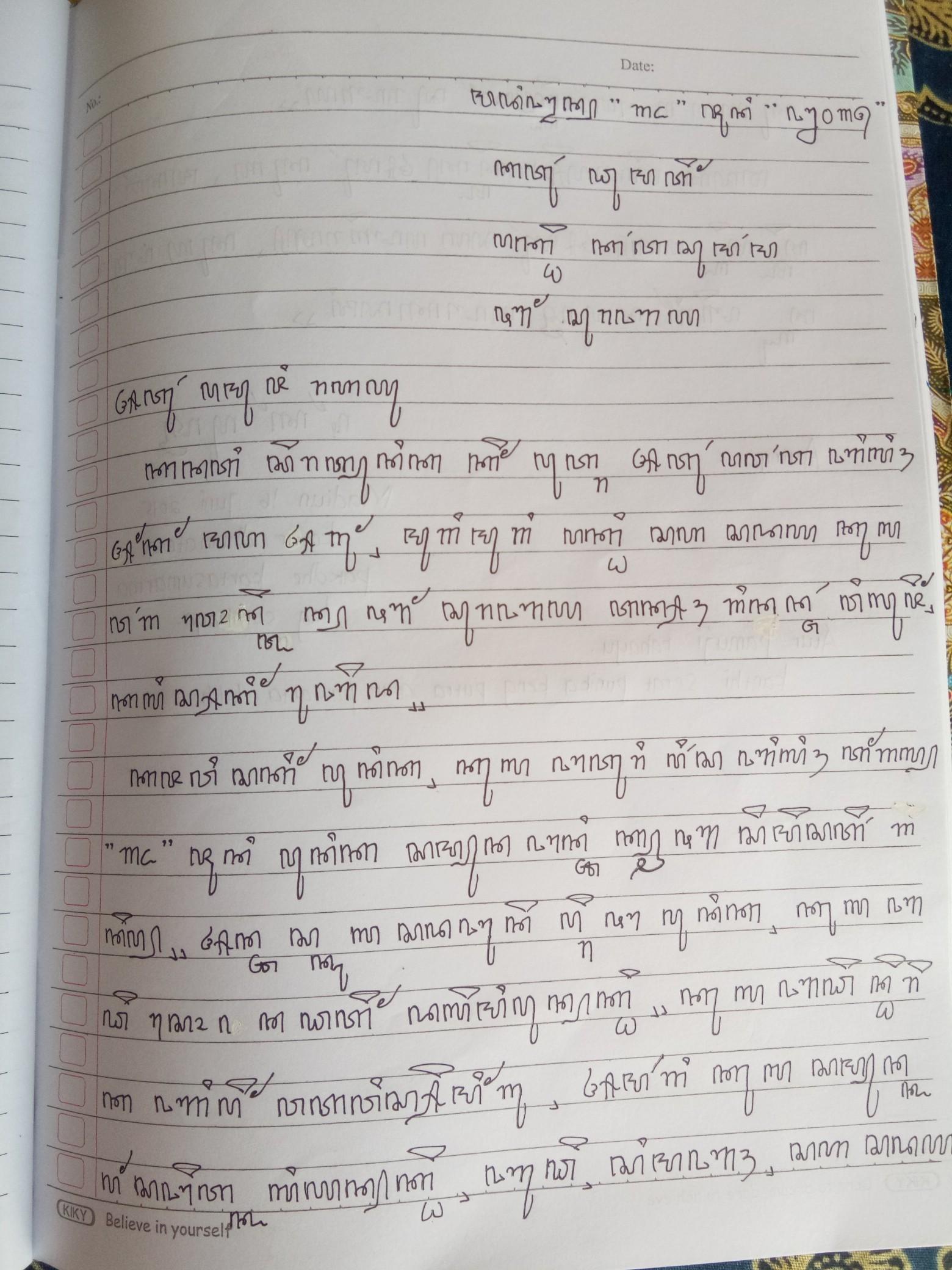 Contoh Surat Aksara Jawa Beserta Artinya Brainly Co Id