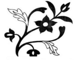 Contoh Ragam Hias Flora Simple Blog Pendidikan