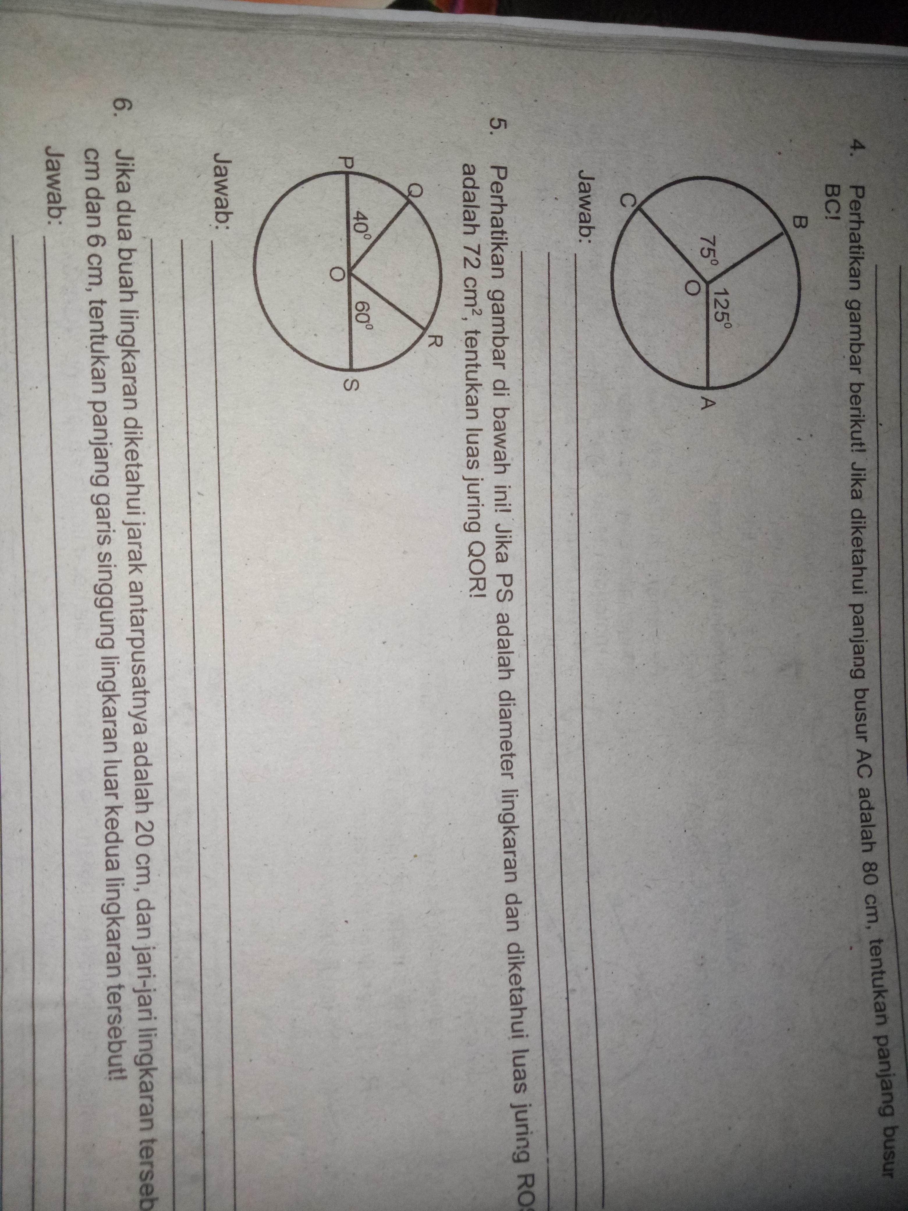 Perhatikan gambar di bawah ini! Jika ps adalah diameter ...