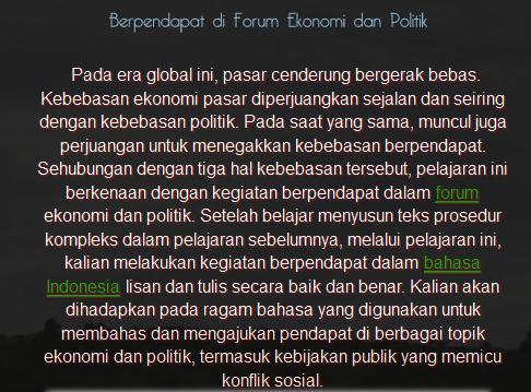 Tuliskan Contoh Teks Eksposisi Bertema Ekonomi Dan Politik Brainly