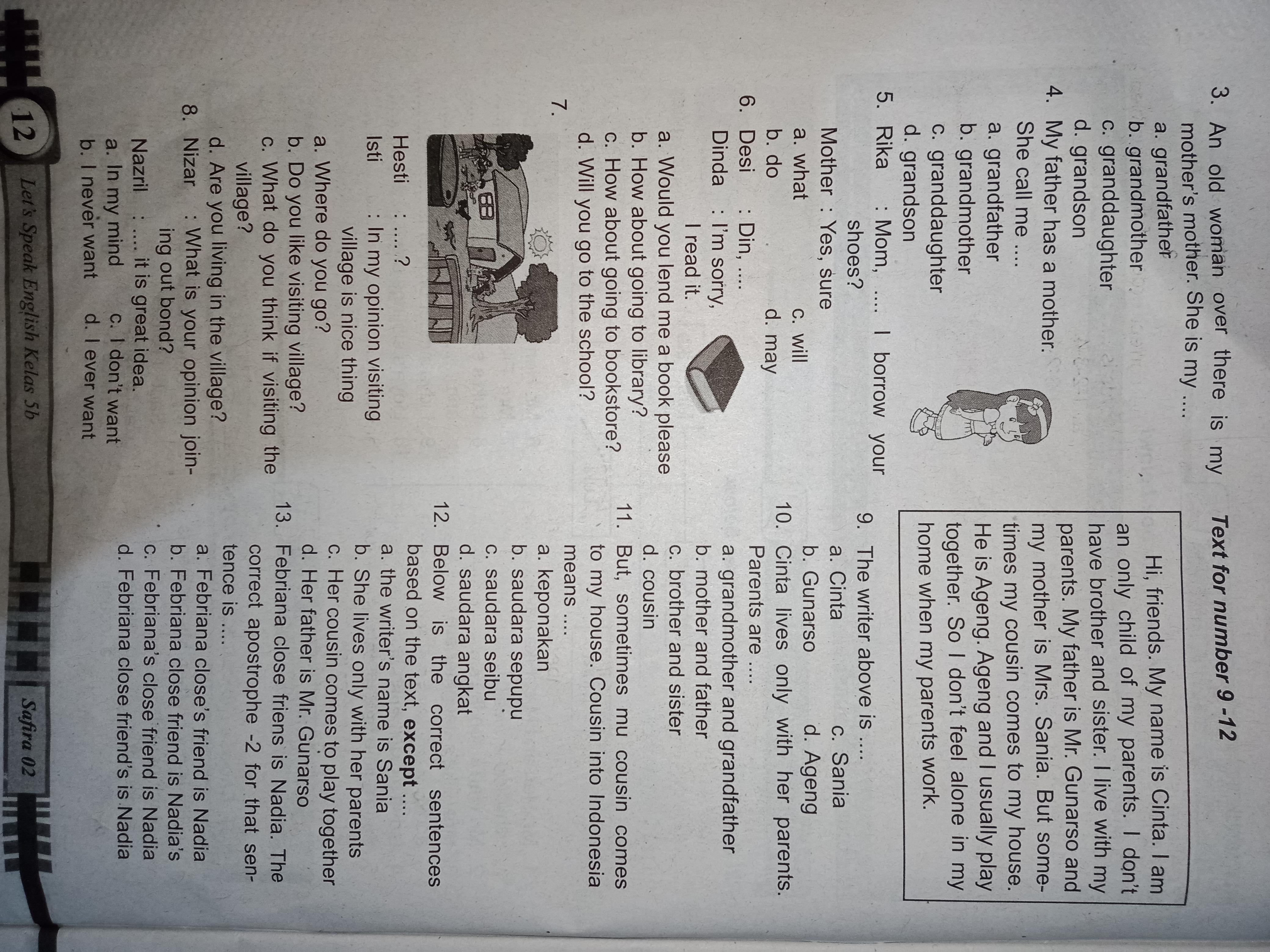 Kunci Jawaban Lks Bahasa Inggris Kelas 5 Semester Genap Halaman 11 13 Brainly Co Id