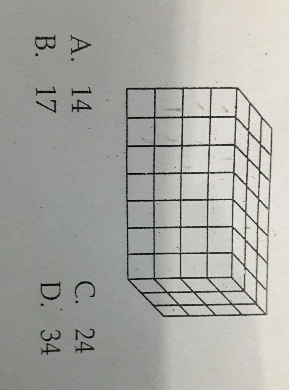 Gambar tersebut adalah balok yang dibentuk oleh kubus kubus kecil gambar tersebut adalah balok yang dibentuk oleh kubus kubus keciljika seluruh sisi luar balok dicatbanyak kubus kecil yang terkena cat hanya pada satu ccuart Gallery