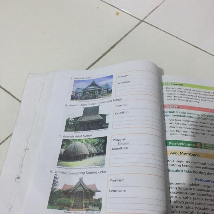 Nama Rumah Adat Jawa Timur Brainly