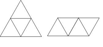 cara membuat jaring jaring limas segitiga kasih foto aja ...