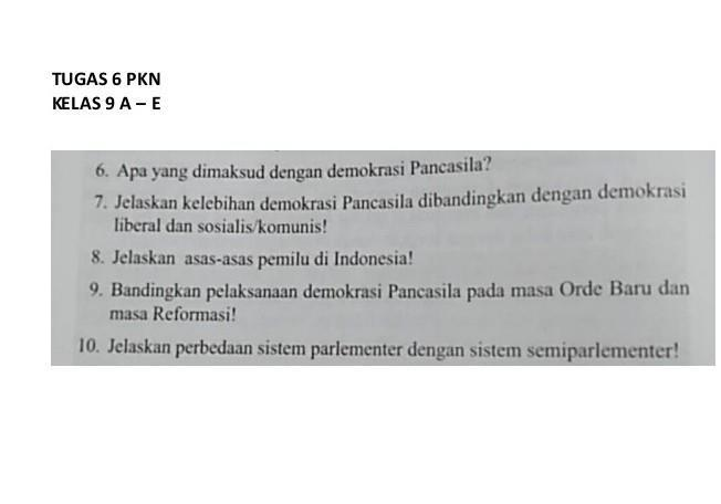 Bagaimana Pelaksanaan Demokrasi Terpimpin Di Indonesia Brainly