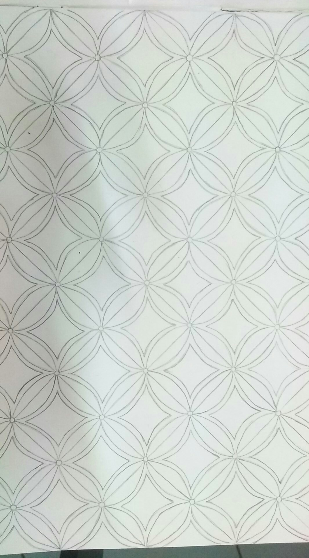 Warna Pensil Yang Cocok Untuk Mewarnai Gambar Batik Ini
