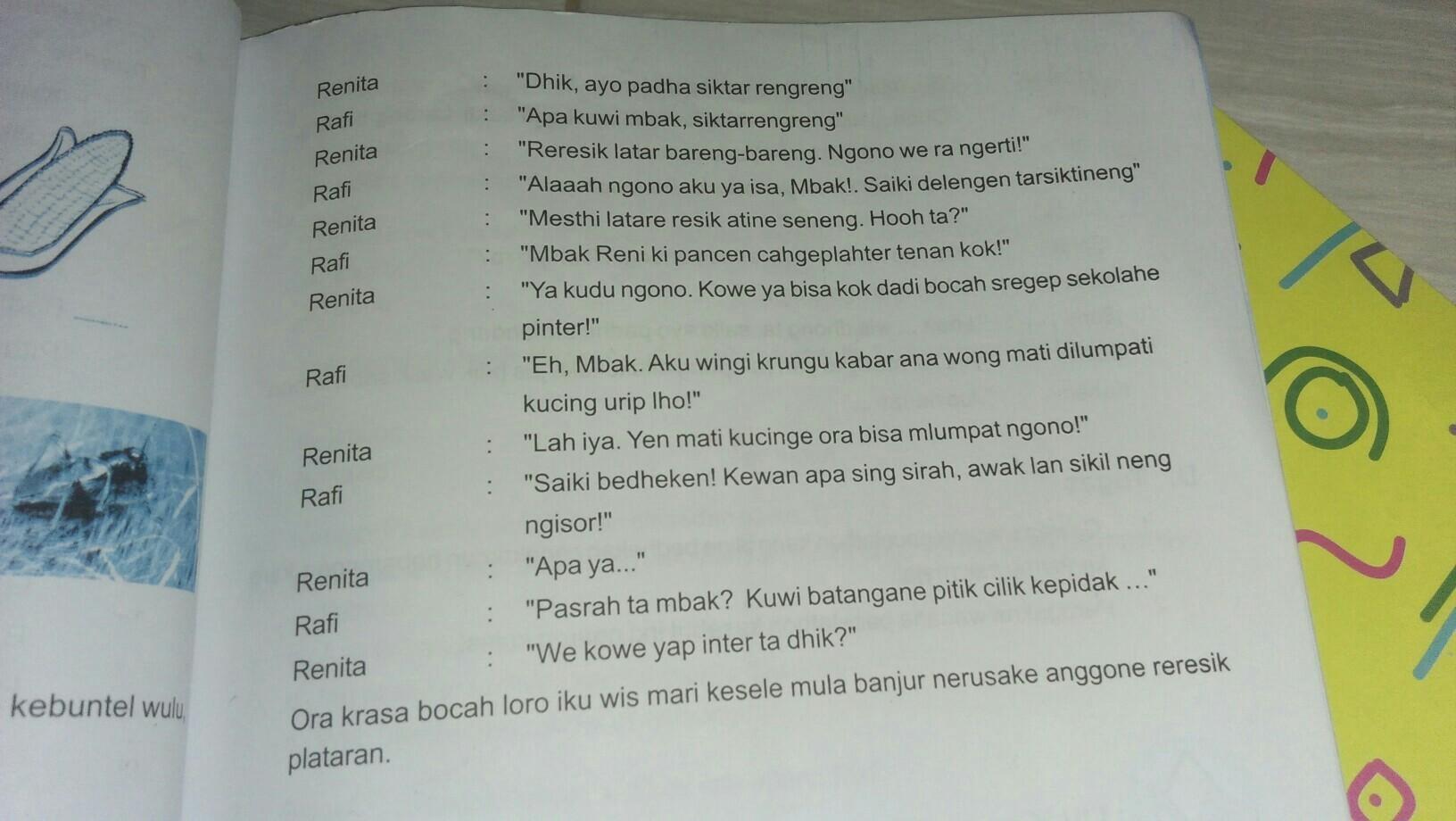 Contoh Dialog Bahasa Jawa Aneka Macam Contoh
