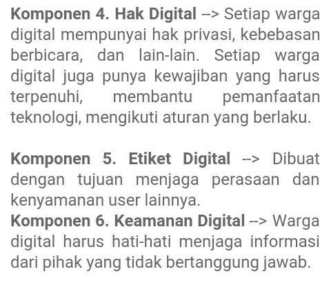 Pengertian Dan Contoh Hak Digital Etika Digital Keamanan Digital