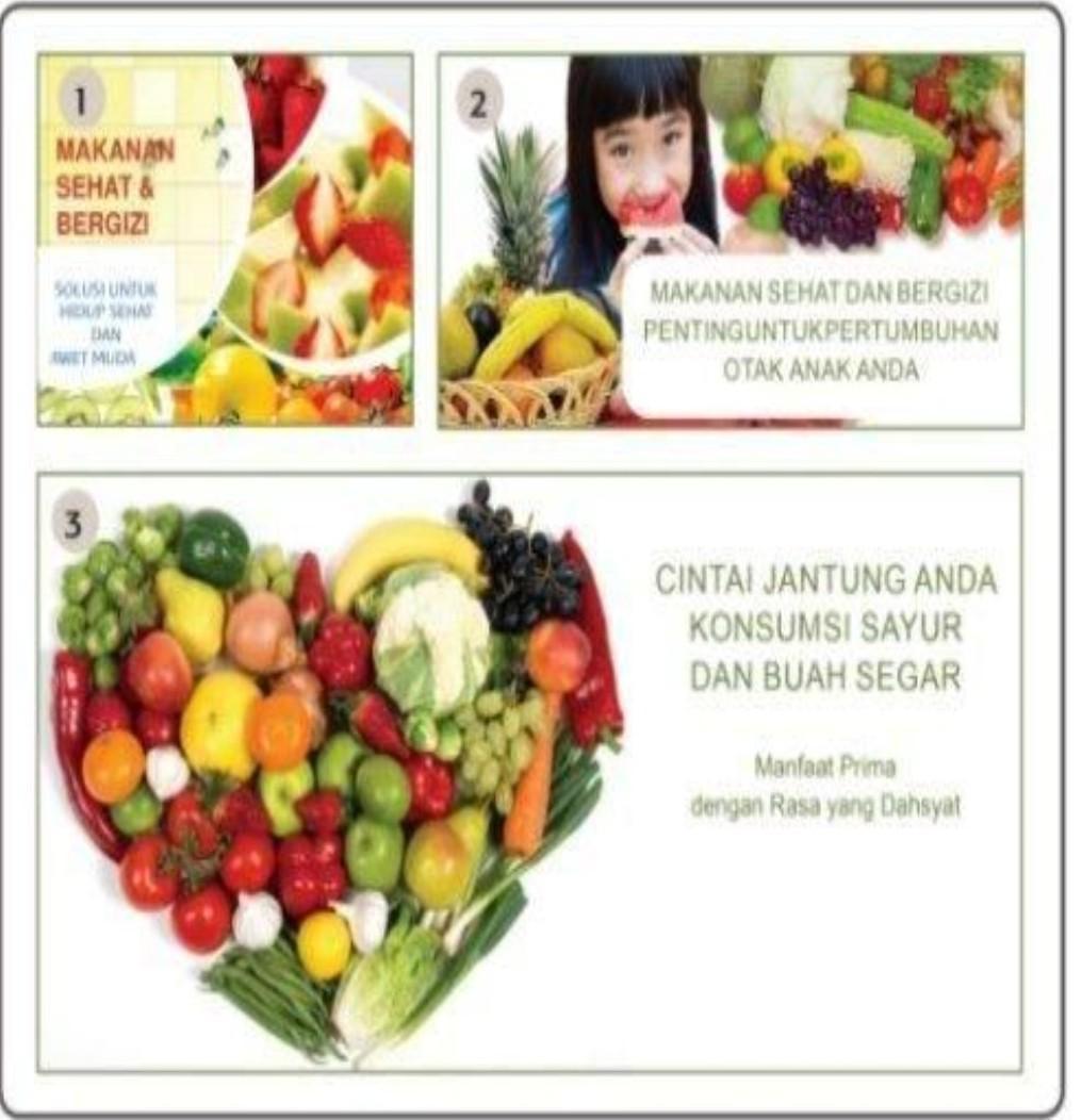 Contoh Iklan Poster Sayuran Sehat / 150 Contoh Desain ...