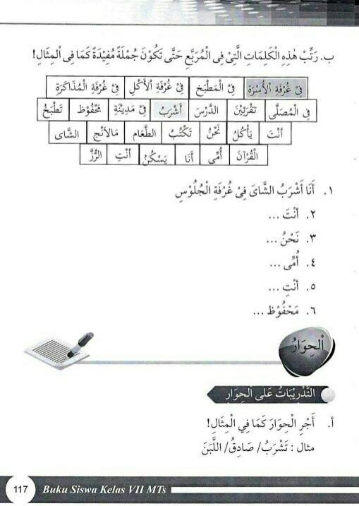 Jawaban B Arab Halaman 117 Kelas 7 Kurikulum 2013 Pliss Bantu Saya Brainly Co Id