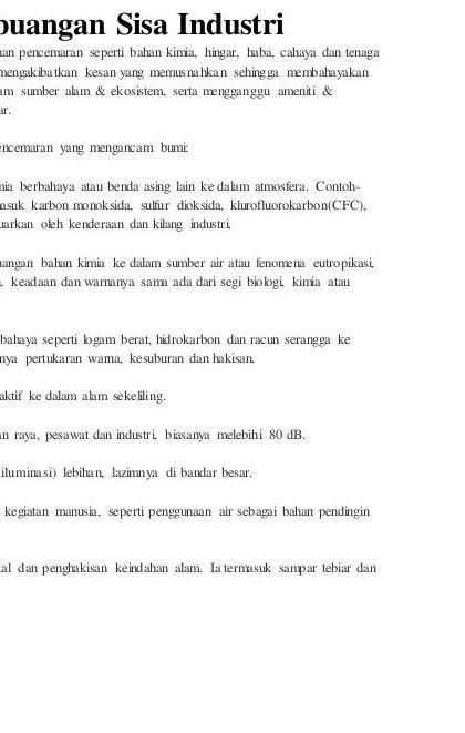 Faktor Pembuangan Sisa Domestik Secara Tidak Terurus Di Malaysia Brainly Co Id