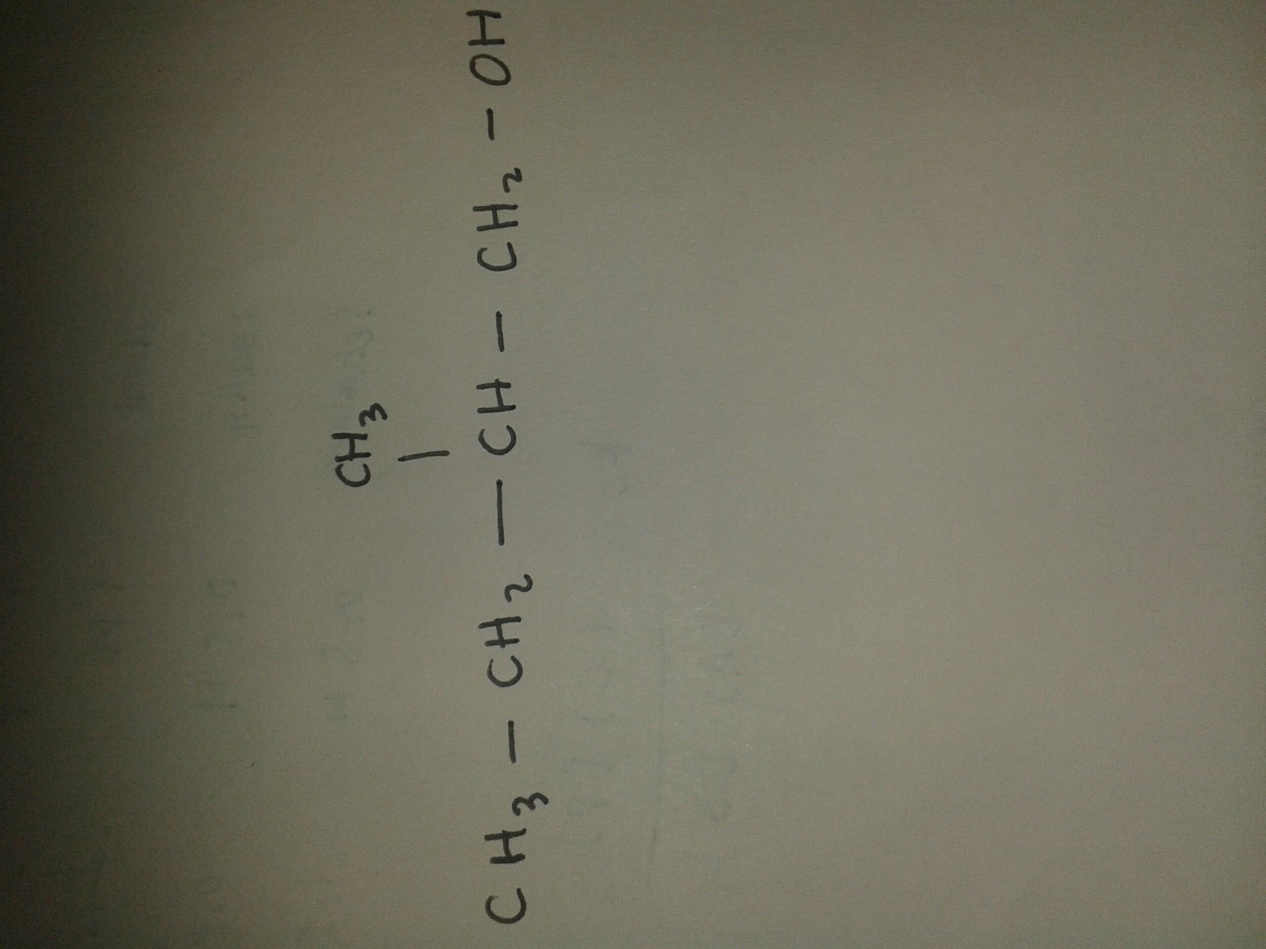 2 Metil Butanol Rumus Struktur Dan Model Atom Brainly Co Id