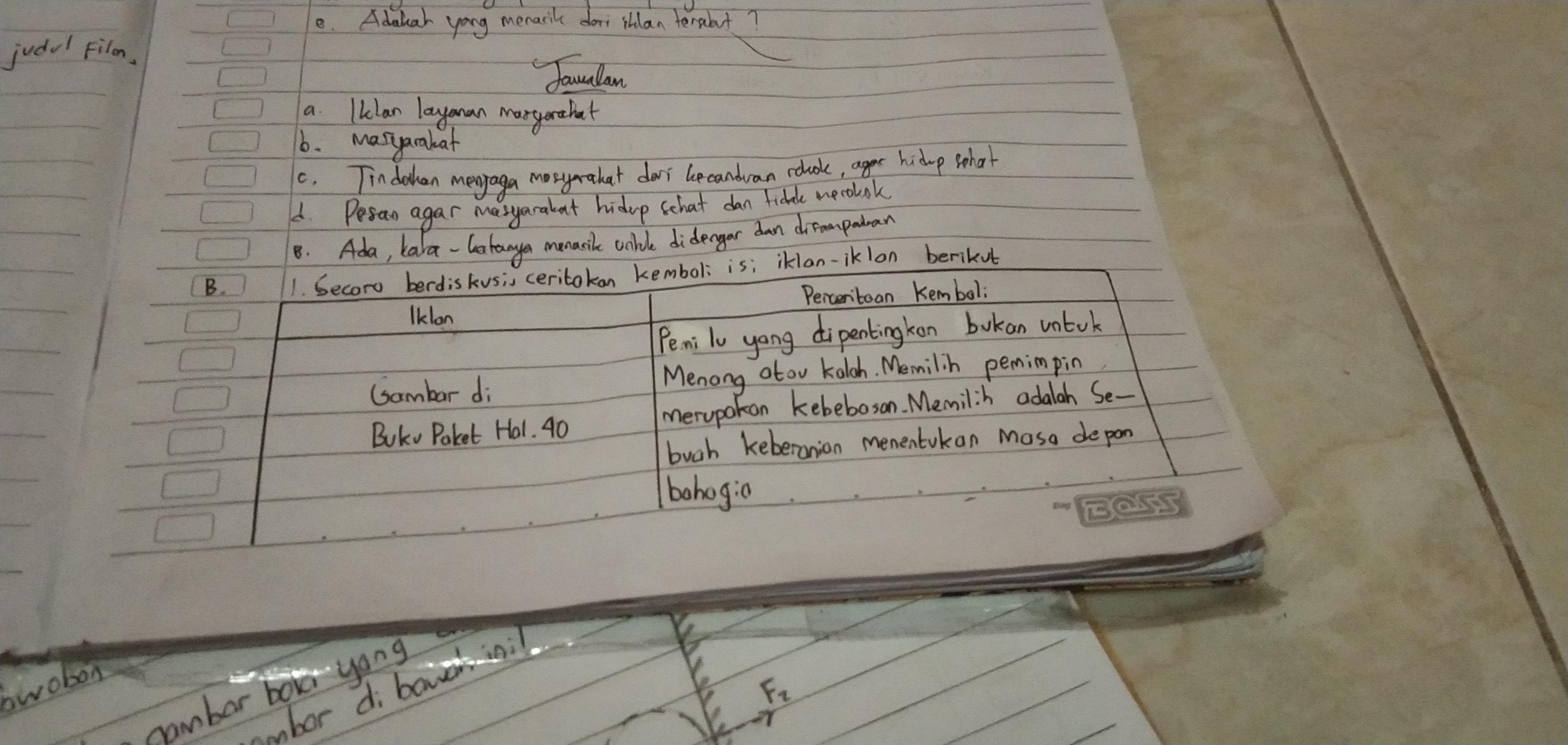 Jawaban Buku Bahasa Indonesia Halaman 153 Revisi 2017 Kelas X 1