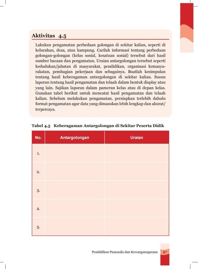Kunci Jawaban Agama Islam Kelas 8 Bab 2 Lks