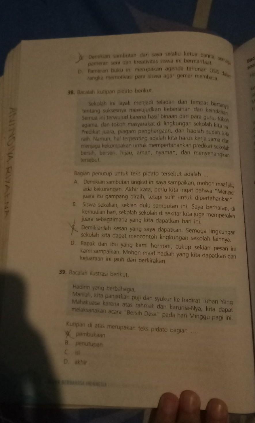 Jawaban Buku Bahasa Indonesia Kelas 9 Halaman 142 Guru Ilmu Sosial