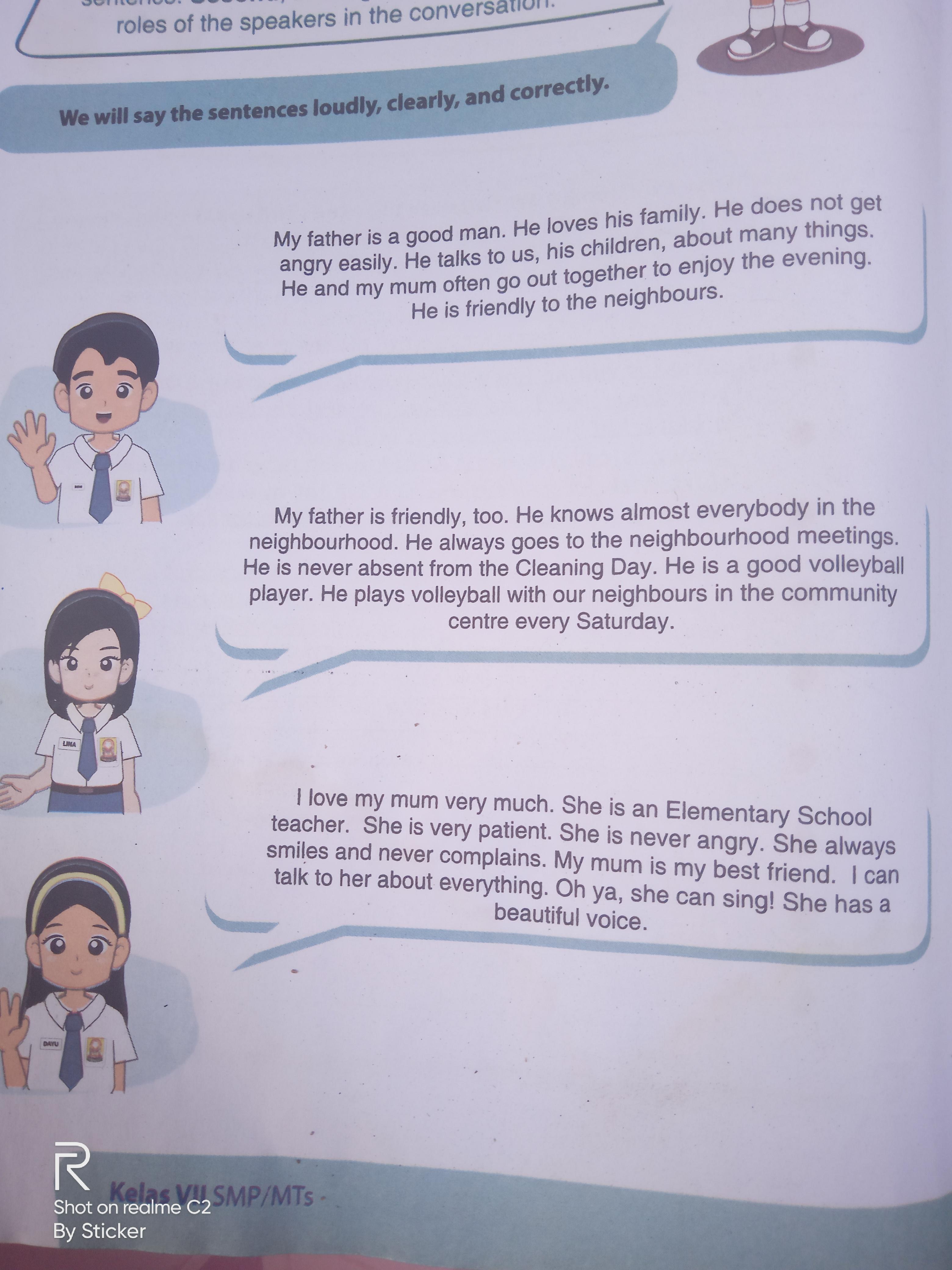 Terjemahkan Bahasa Inggris Kelas 7 Halaman 160 Brainly Co Id