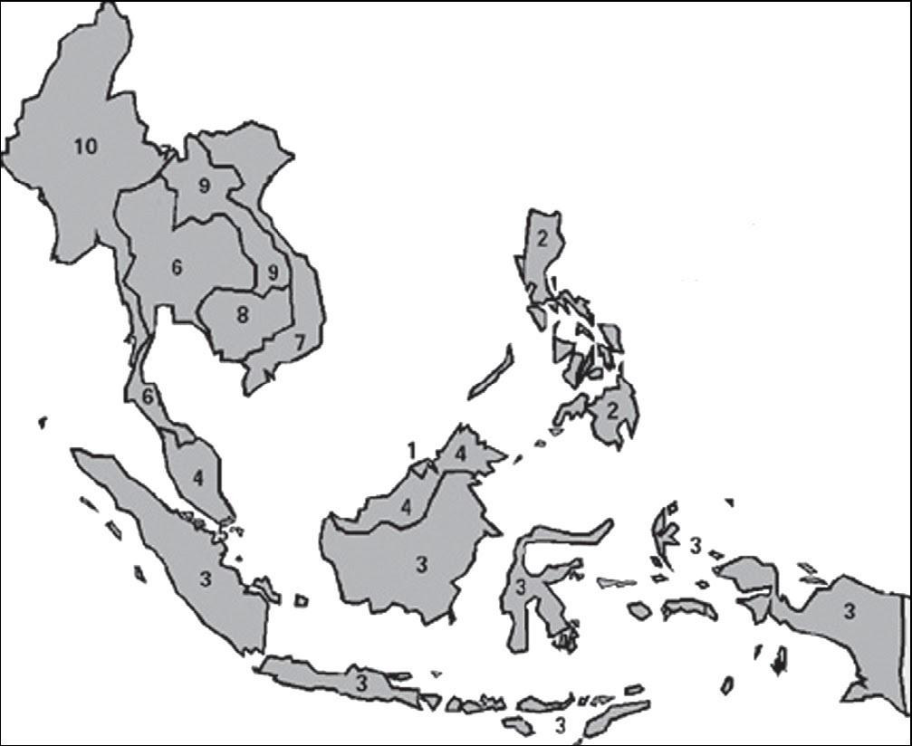 Lihat Jawaban Peta Buta Wilayah Asia Tenggara Kelas 6 Brainly