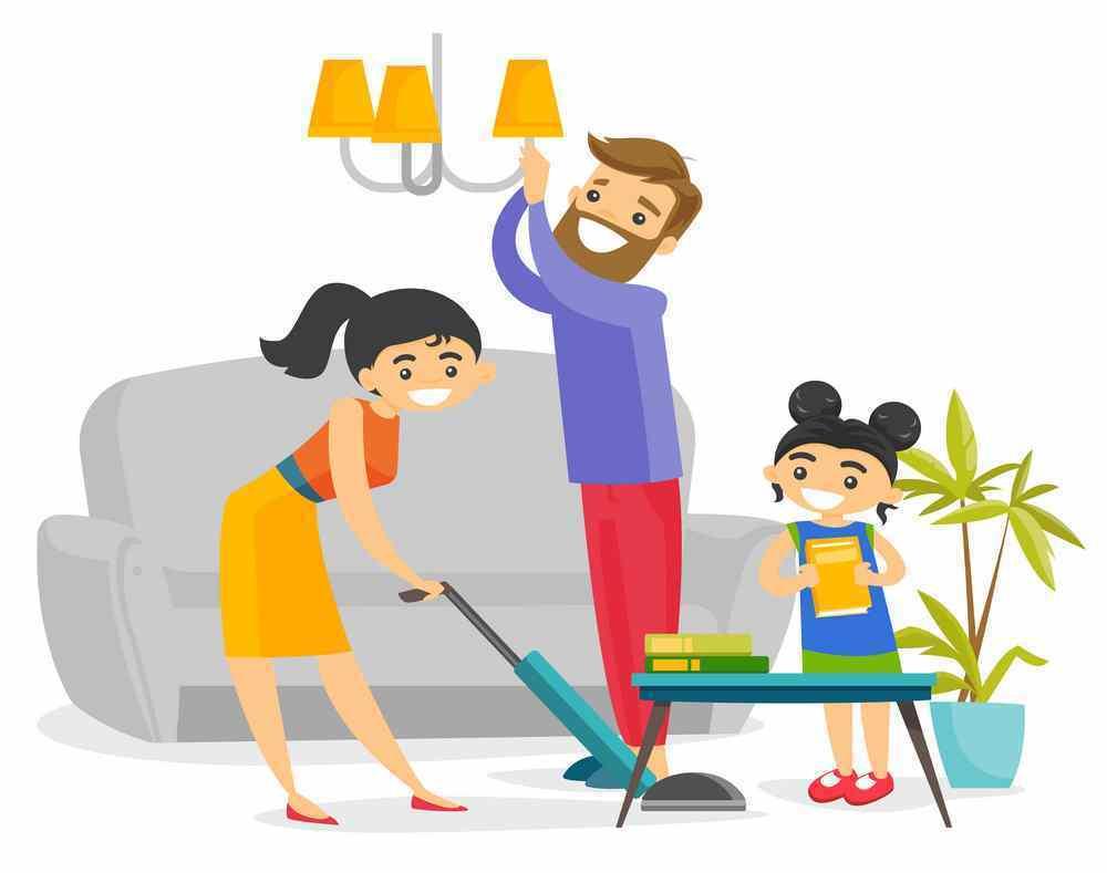 90 Gambar Kartun Membersihkan Lingkungan Rumah Terbaru