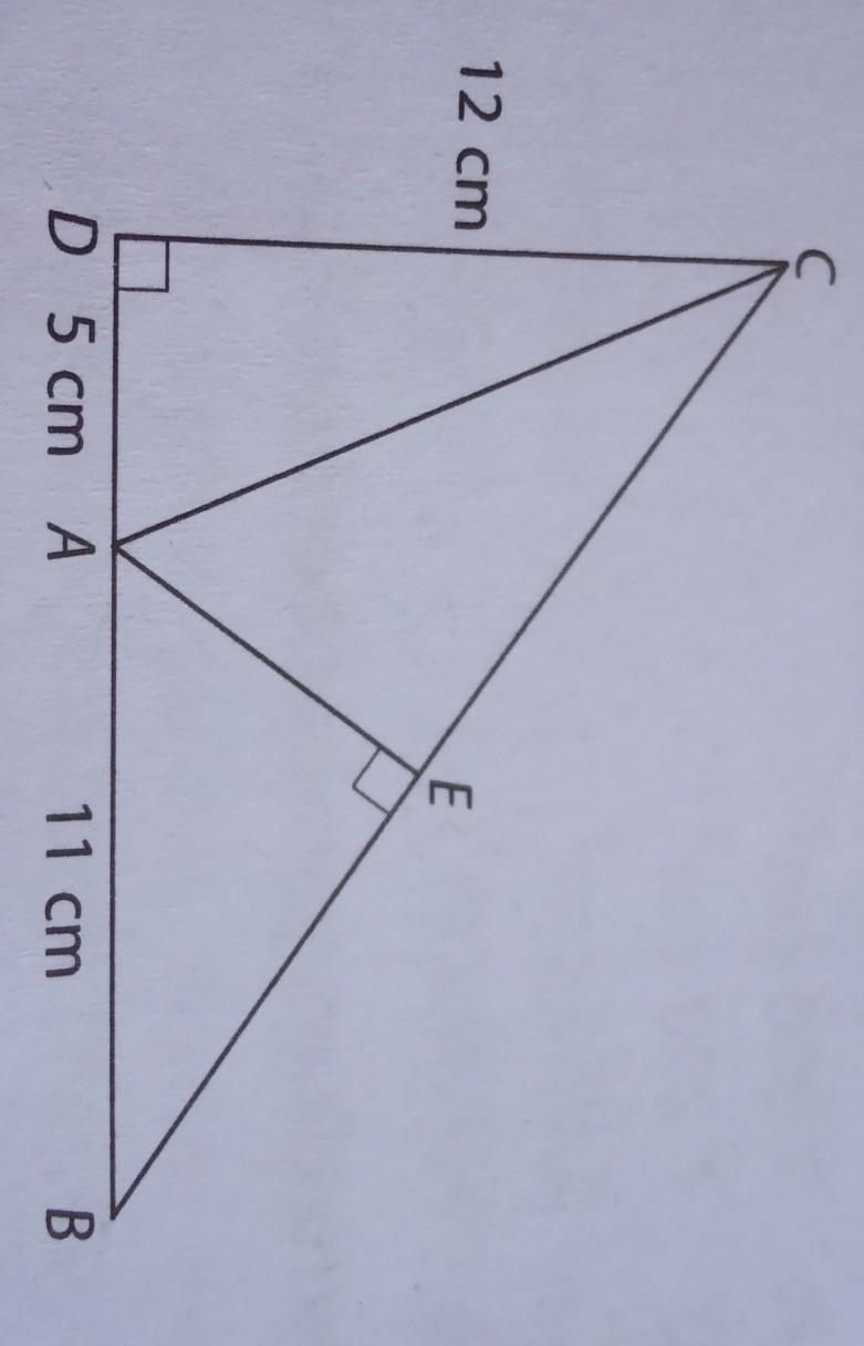 29. Perhatikan gambar berikut.Panjang AE adalah ....A. 6 ...