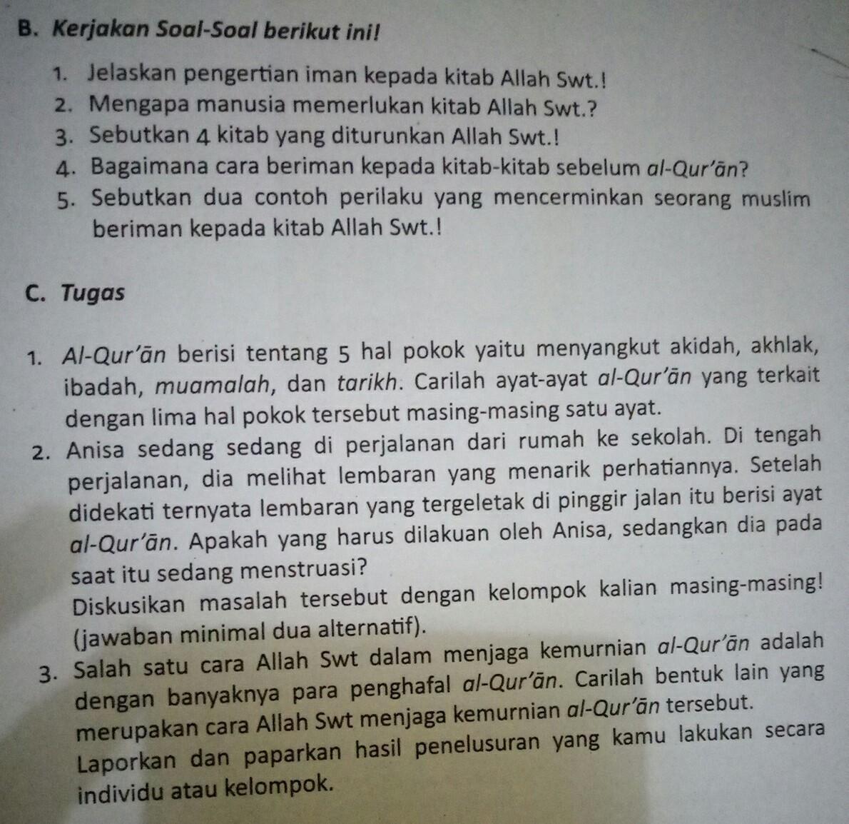 Sebutkan 2 Contoh Perilaku Yang Mencerminkan Seorang Muslim ...