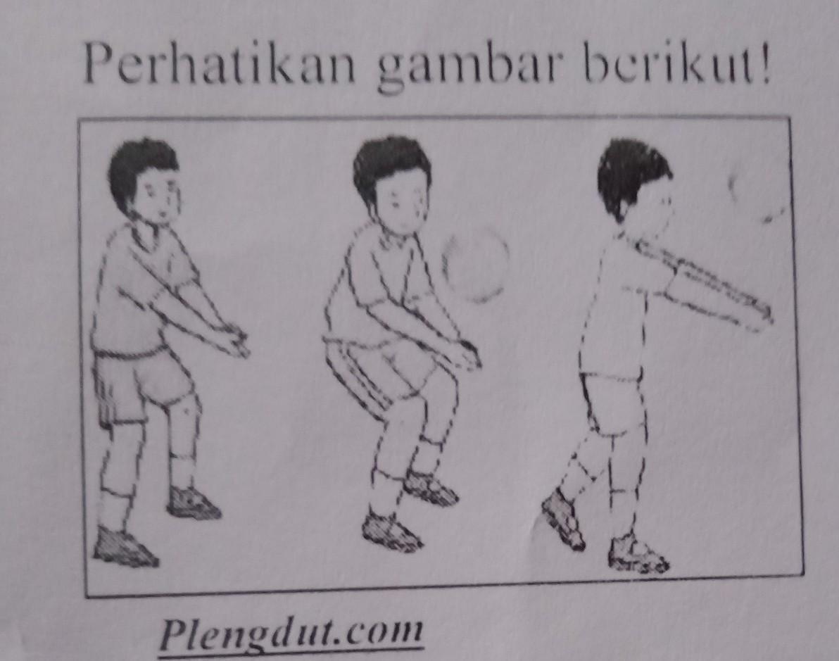 Jelaskan Gerakan Teknik Dasar Permainan Bola Voli Seperti Pada Gambar Diatas Please Ka Harus Brainly Co Id
