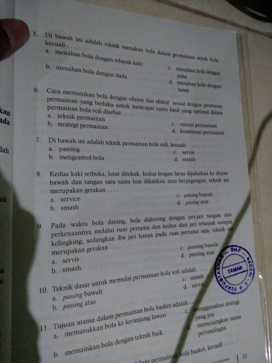 Yg No 8 Bantu Jawab Pr Buat Besokkk Brainly Co Id