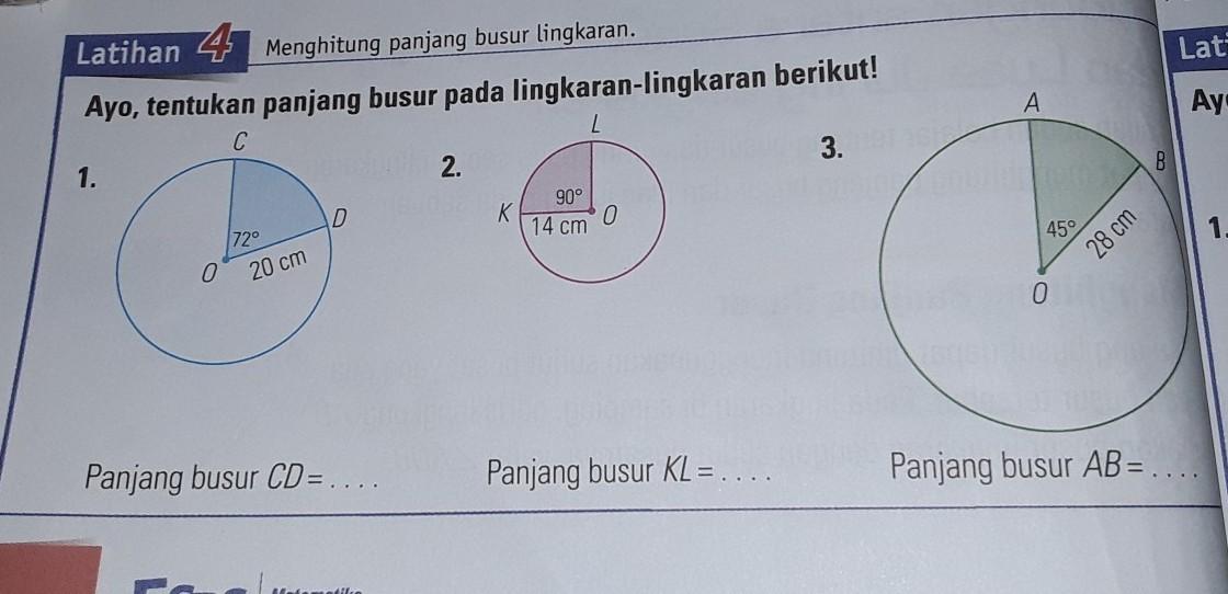 Contoh Soal Keliling Lingkaran Dan Jawabannya Kelas 6