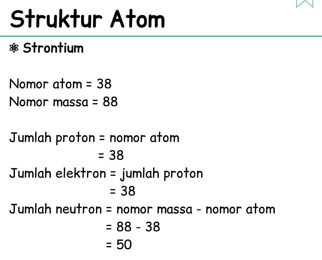 Jumlah Proton Elektron Dan Neutron Dalam Unsur - Berbagai ...