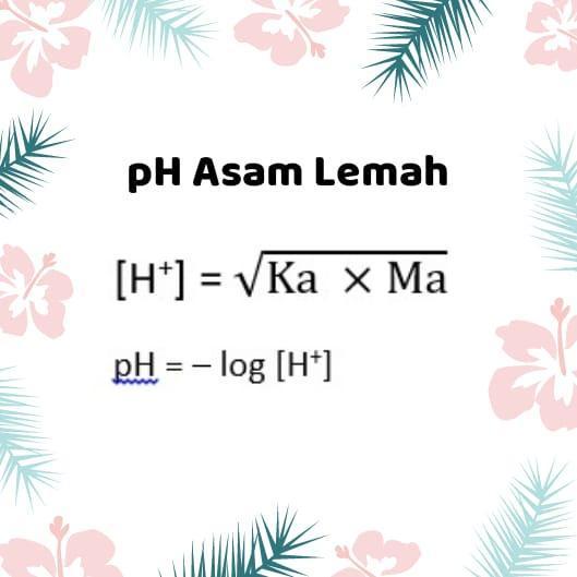 berikut ini data nilai Ka dari beberapa asam Ka CH3COOH=1 ...