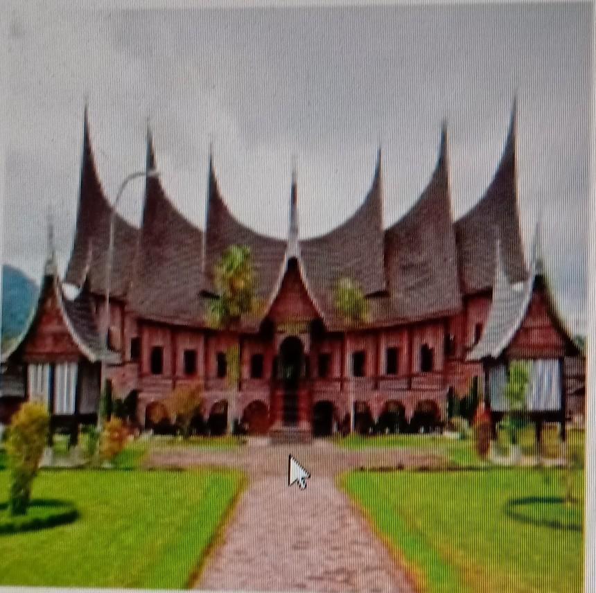 9 Gambar Di Atas Ini Merupakan Rumahadat Di A Sumatera Utara Bolon B Sumatera Barat Brainly Co Id