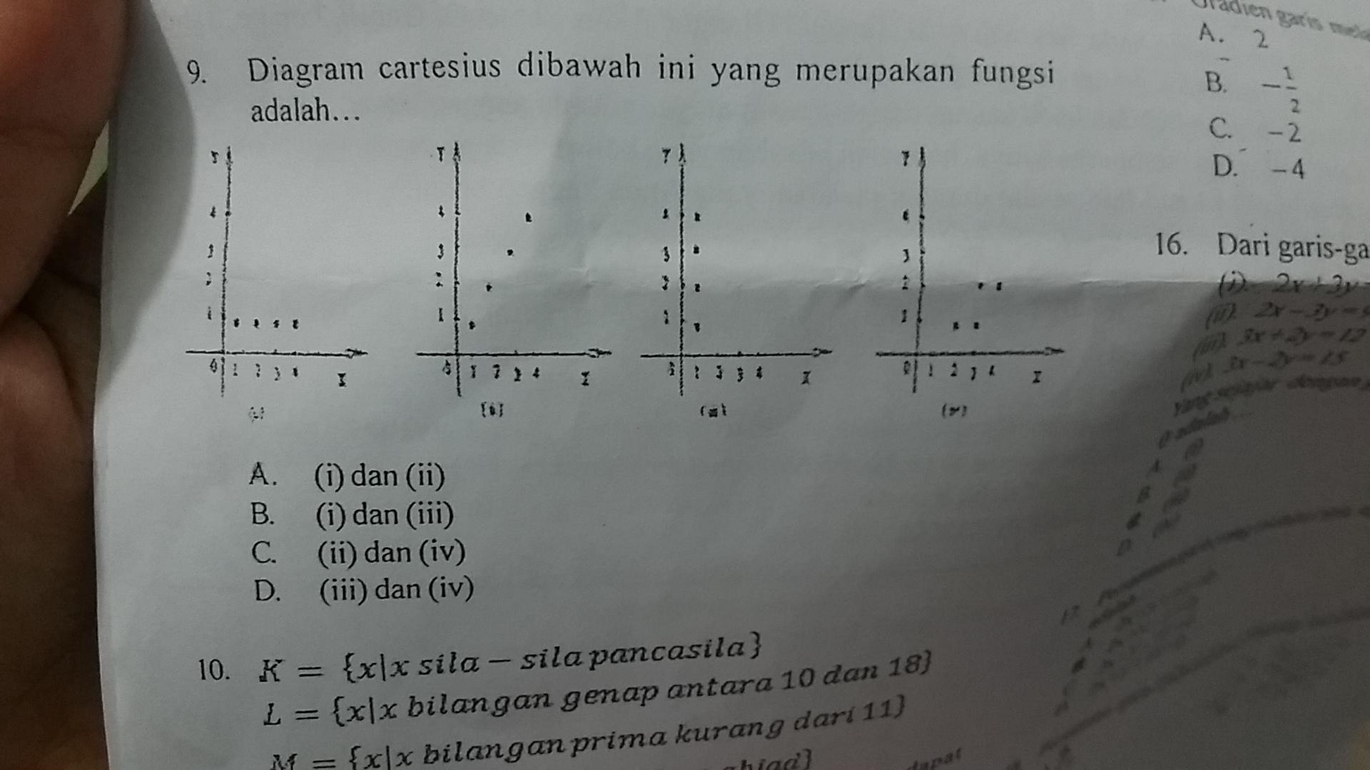 No9 diagram cartesius yang merupakan fungsi brainly no9 diagram cartesius yang merupakan fungsi ccuart Images