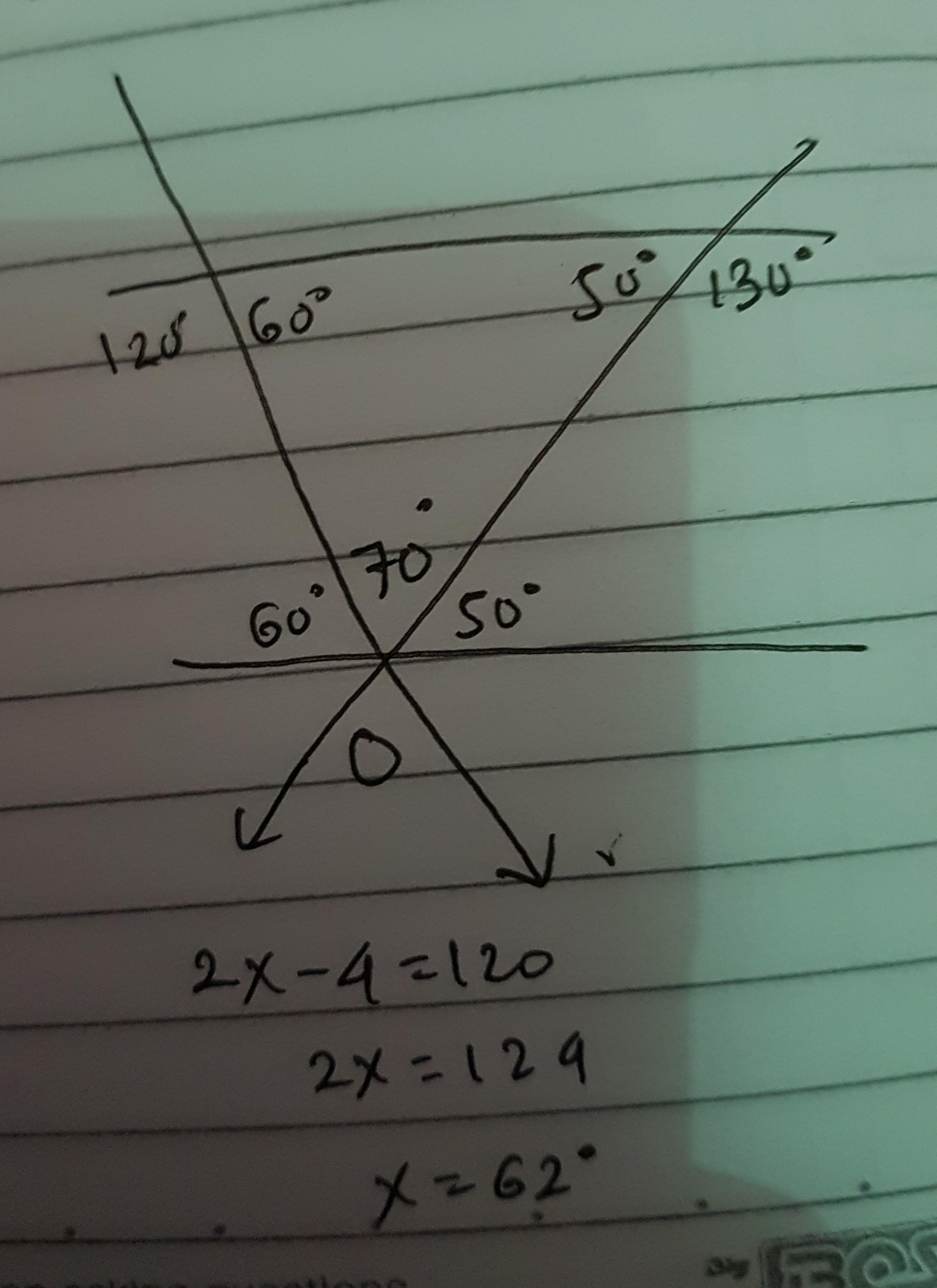 Perhatikan gambar di bawah ini. Garis k sejajar garis l ...