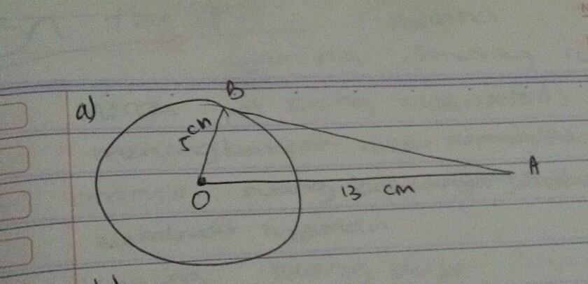 diketahui lingkaran berpusat di titik O dengan jari jari ...