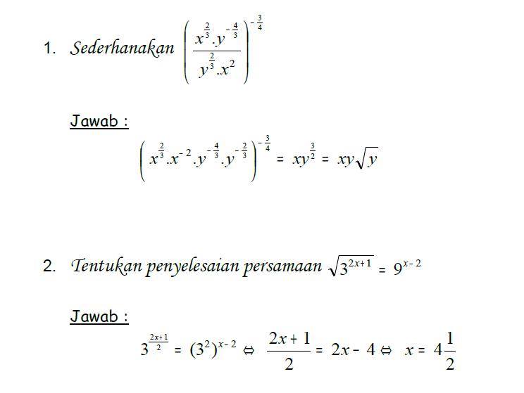 Latihan Soal Uas Matematika Sma Kelas X Semester Ganjil 2018