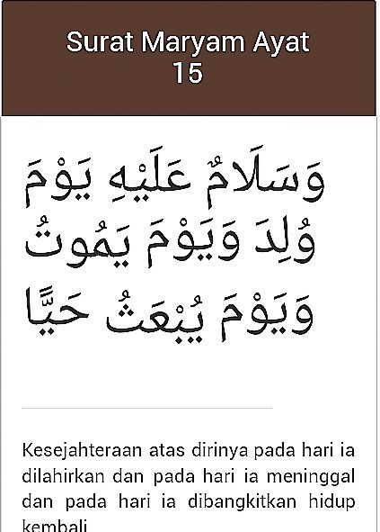 Tuliskan Surah Maryam Ayat 15 Brainlycoid