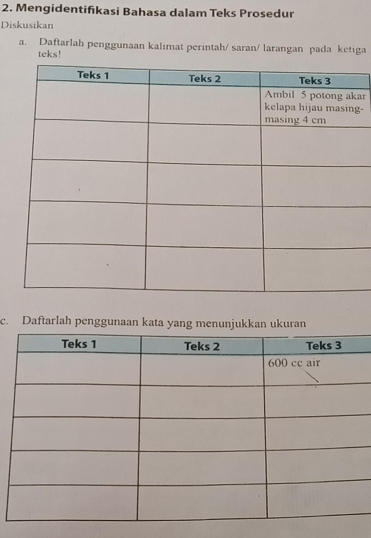 Kunci Jawaban Bahasa Indonesia Kelas 7 Semester 1 Halaman 87