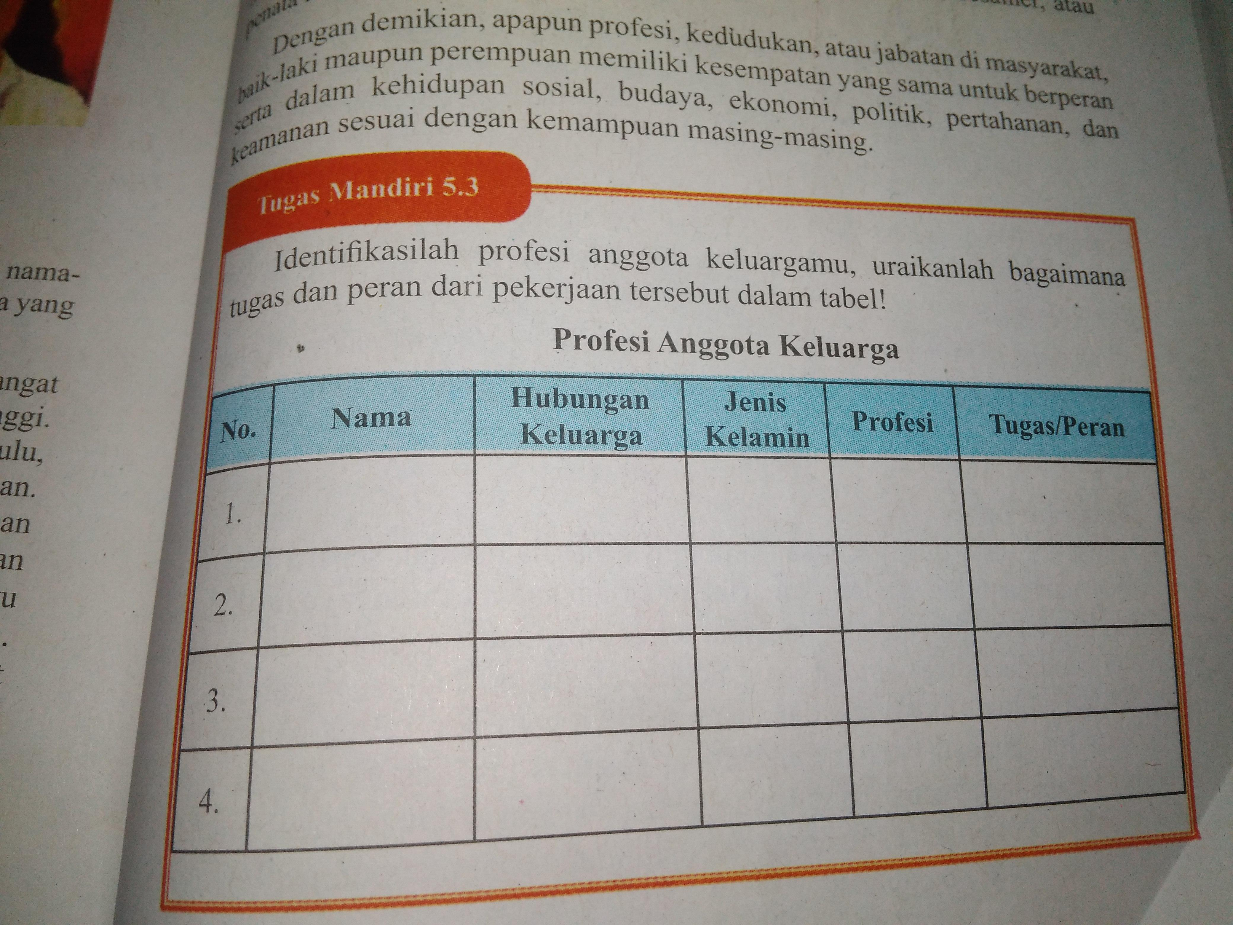 Jawaban Buku Uji Kompetensi Bab 6 Pkn Kelas 9