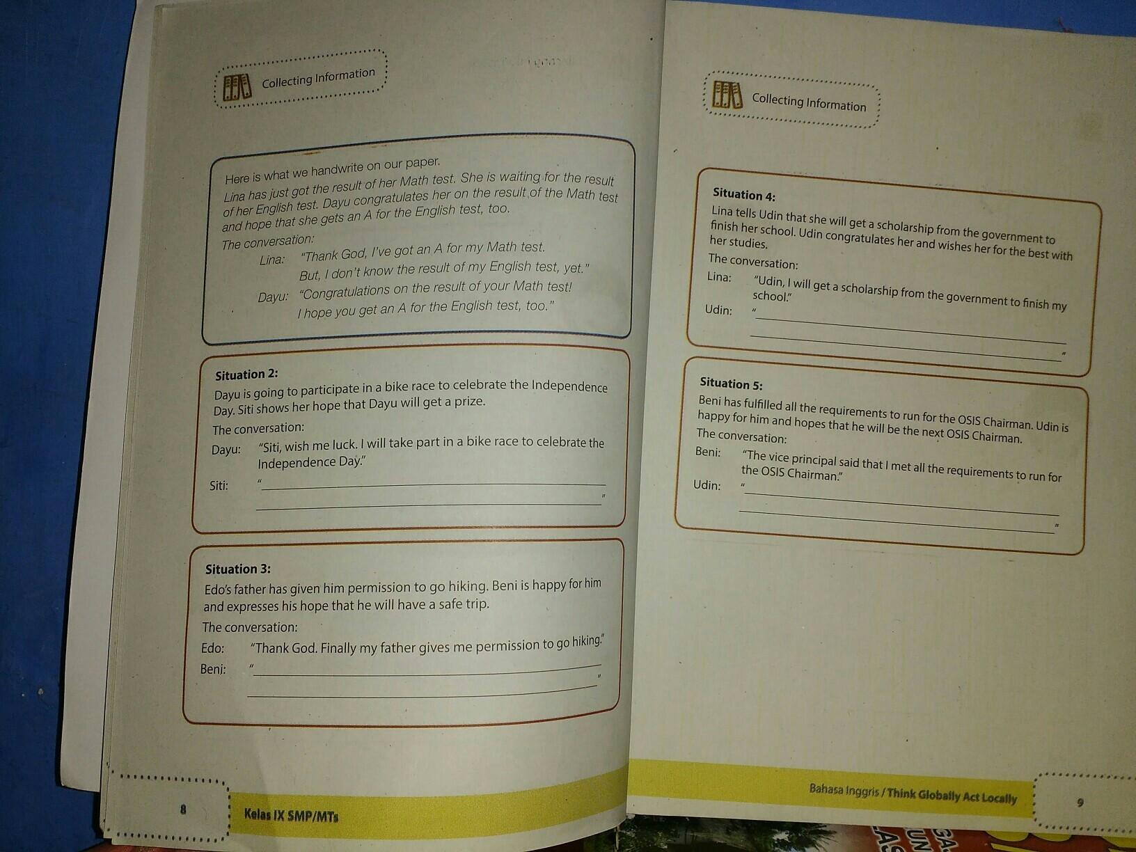Collecting Information Kelas 9 Halaman 8 9 Brainly Co Id